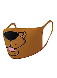 Scooby Doo - Scooby Mouth Face Covering Double Pack