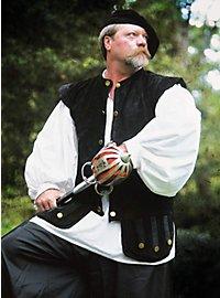 Scottish Hunting Vest black