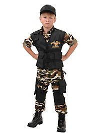 SEAL Special Unit Child Costume