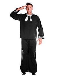 Seemann schwarz Kostüm