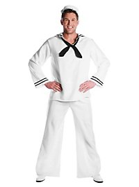 Seemann weiß Kostüm