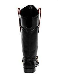 Seeräuber Stiefel schwarz