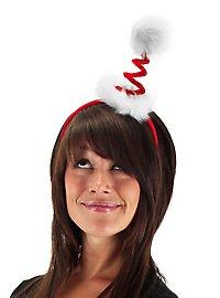 Serre-tête de Noël tire-bouchon