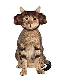 Serre-tête princesse Leia Star Wars pour chat