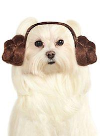 Serre-tête princesse Leia Star Wars pour chien