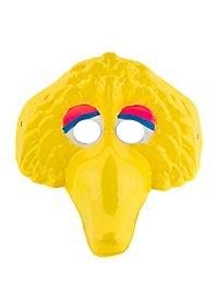 Sesamstraße Bibo Kindermaske aus Kunststoff