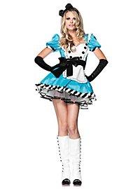 Sexy Alice mit Satinschleife Kostüm