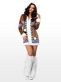 Sexy arctic fox costume