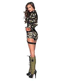 Sexy Army Soldatin Kostüm
