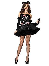 Sexy Burlesque Kitty Costume
