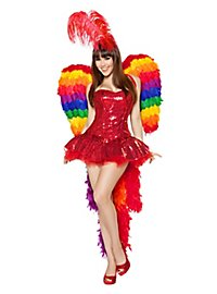 Sexy Burlesque Parrot Costume