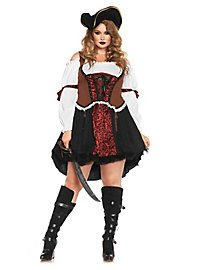 Sexy Corsair Plus Size Pirate Costume