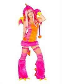 Sexy Drachenmonster Premium Edition Kostüm