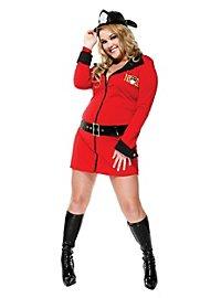 Sexy Einsatzleiterin Kostüm