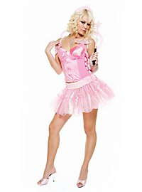 Sexy Fee pink Kostüm