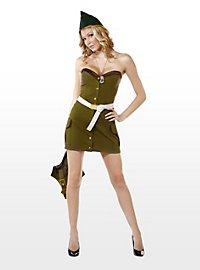Sexy Feldwebel Kostüm
