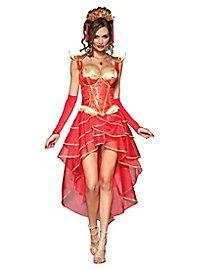 Sexy Feuerdrache Kostüm