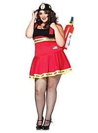 Sexy Feuerwehr Pin-up Kostüm