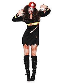 Sexy Feuerwehrfrau Zombie Kostüm