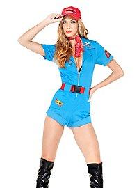 Sexy Formel 1 Girl Kostüm