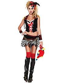 Sexy Frau Störtebecker Piratenkostüm