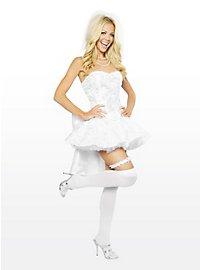 Sexy Glittering Bride Costume