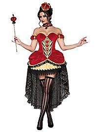 Sexy Herzkönigin Premium Edition Kostüm