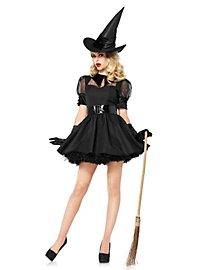 Sexy Hexe schwarz Kostüm