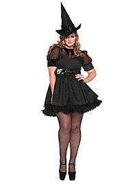 Sexy Hexe schwarz XXL Kostüm