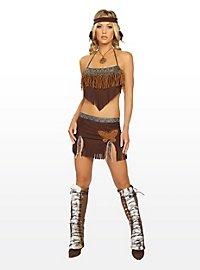Sexy Hippie Indianer Kostüm