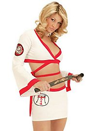 Sexy Karate Girl Kostüm