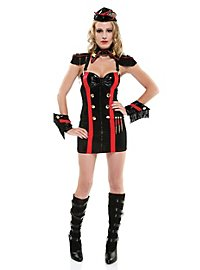 Sexy Kommandantin Kostüm