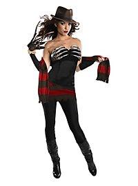 Sexy Lady Freddy Krueger Kostüm
