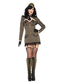Sexy Majorin Kostüm