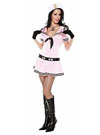 Sexy Matrosin pink Kostüm