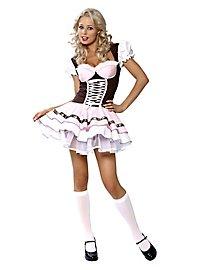 Sexy Milchmädchen Kostüm