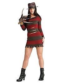 Sexy Miss Freddy Krueger Kostüm