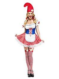 Sexy Miss Gartenzwerg Kostüm
