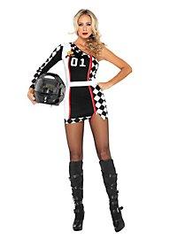 Sexy Motocross Fahrerin Kostüm