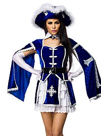 Sexy Musketier Kostüm