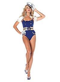 Sexy Navy Offizierin Kostüm