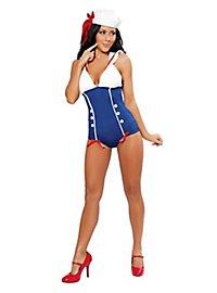 Sexy Navy Pin-up Kostüm