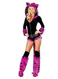 Sexy Neon Tiger Premium Edition Kostüm