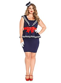 Sexy Pin-up Cadet Plus Size Costume