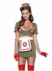 Sexy Pin Up Krankenschwester Kostüm