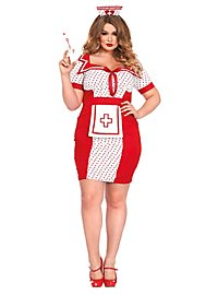 Sexy Pin-up Nurse Plus Size Costume
