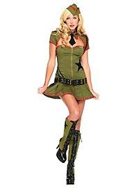 Sexy Pin Up Soldatin Kostüm