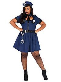 Sexy Polizistin XXL Kostüm