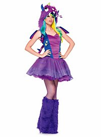 Sexy Purple Dragon Costume