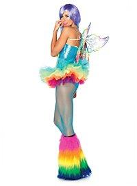 Sexy Regenbogen-Elfe Kostüm